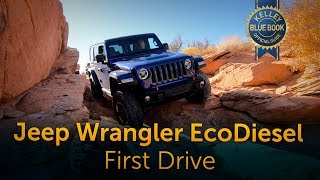 2020 Jeep Wrangler EcoDiesel - First Drive