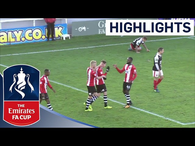 Exeter City FC 3 - 1 Heybridge Swifts FC | Highlights | The Emirates FA Cup 2017/18