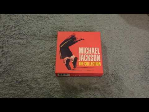 MICHAEL JACKSON THE COLLECTION UNBOXING