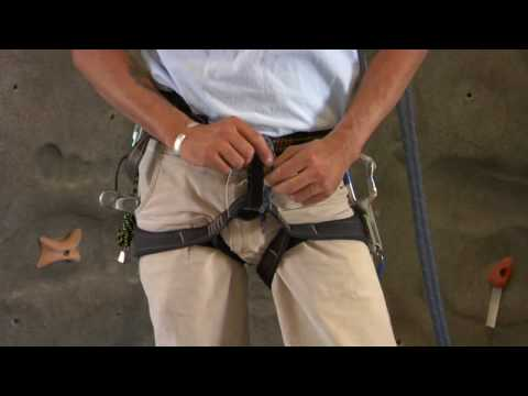 Rock Climbing How To Use A Climbing Harness