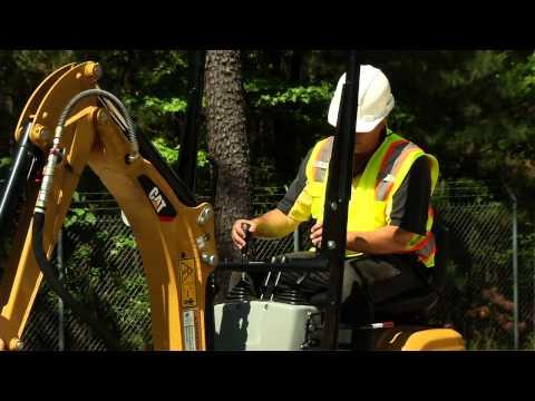 Cat® 300 9D Mini Excavator Ideal For Using H25 Hammer