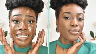 ROUTINE SOIN VISAGE - de peau grasse à peau normale (mixte)