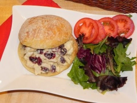 Chicken Salad With Cranberries & Almonds