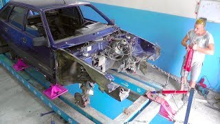видео: ВАЗ 2109. Вытяжка кузова.