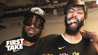 Max Kellerman: The Lakers will repeat as NBA champions | First Take