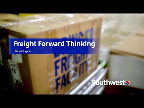 Did you know freight forwarders use Southwest Airlines?