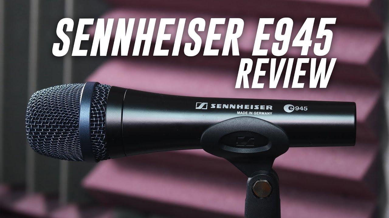 sennheiser e945 dynamic mic review test youtube. Black Bedroom Furniture Sets. Home Design Ideas