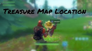 """Snobby Shores Treasure Map"" Location In Fortnite (Week 3 Battle Pass Challenges)"