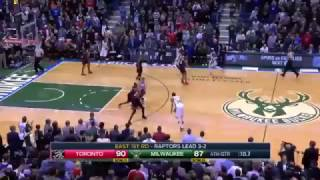 Bucks Final Possession vs Raptors - Giannis Dunk Instead of 3-Pointer