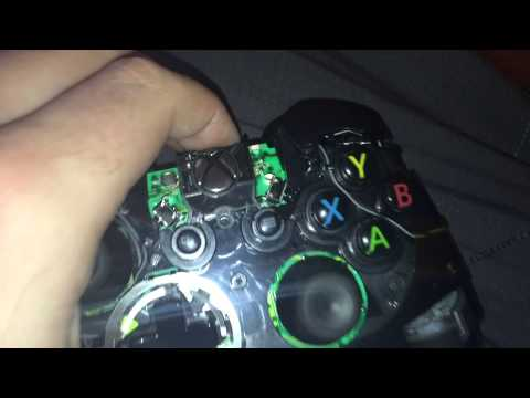 Xbox One Controller - Fix RB/LB Button (WD40)
