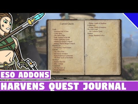Harven's Quest Journal | ESO Addon Spotlight | Elder Scrolls Online Best Addons