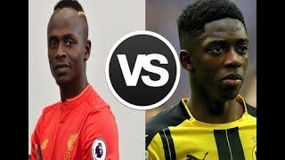 Sadio Mane vs Ousmane Dembele ● 2017 - Magic goals, skills & assist