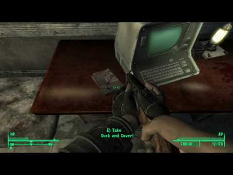Fallout 3: Explosives Book Location - Springvale Elementary School