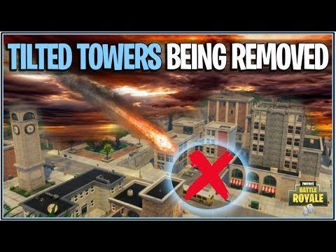 """*NEW* Fortnite: TILTED TOWERS BEING REMOVED TODAY!? """" (Leaked Date Ends Tomorrow!)"""