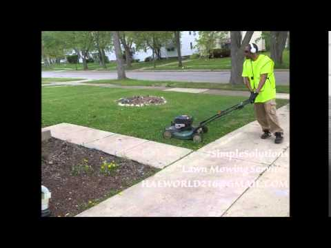 Simple Solutions Lawn Mowing Service Promo Video