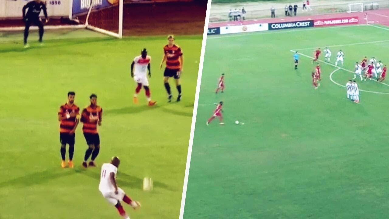 Didier Drogba's SUPER POWERED free kicks though | Oh My Goal