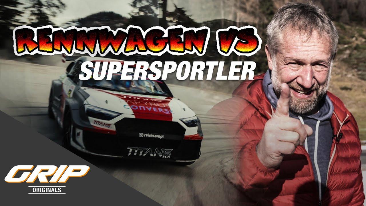 Rennwagen vs. Supersportler 🔥 - Lamborghini Huracan Evo, Pantera RX6 I GRIP Originals