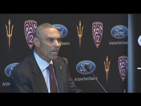 RAW VIDEO: ASU's new football coach delivers fiery statement