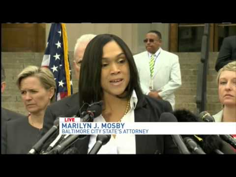 Baltimore State's attorney press conference on Freddie Gray