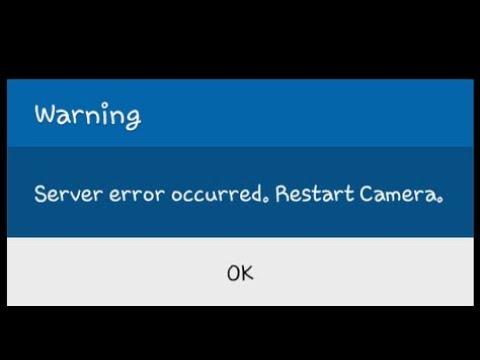 Cara Memperbaiki Samsung J5 2016 Camera Terjadi Kesalahan Server Mulai Ulang Camera Youtube