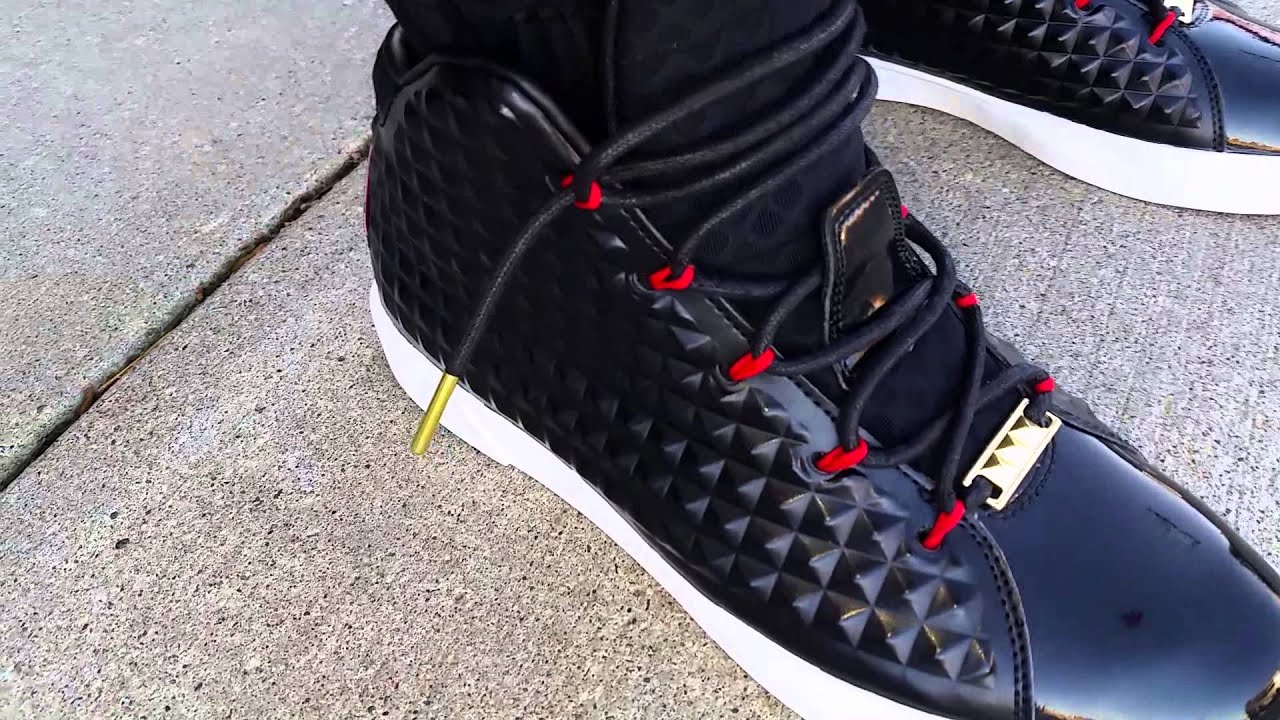 f4e05f990a9c Nike Lebron 12 XII NSW Lifestyle EXT QS On FEET Shoe REVIEW! - YouTube