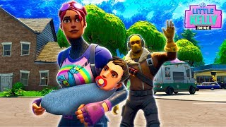 LITTLE KELLY AND RAPTOR HAVE A BABY  Part 2- Fortnite Short Film