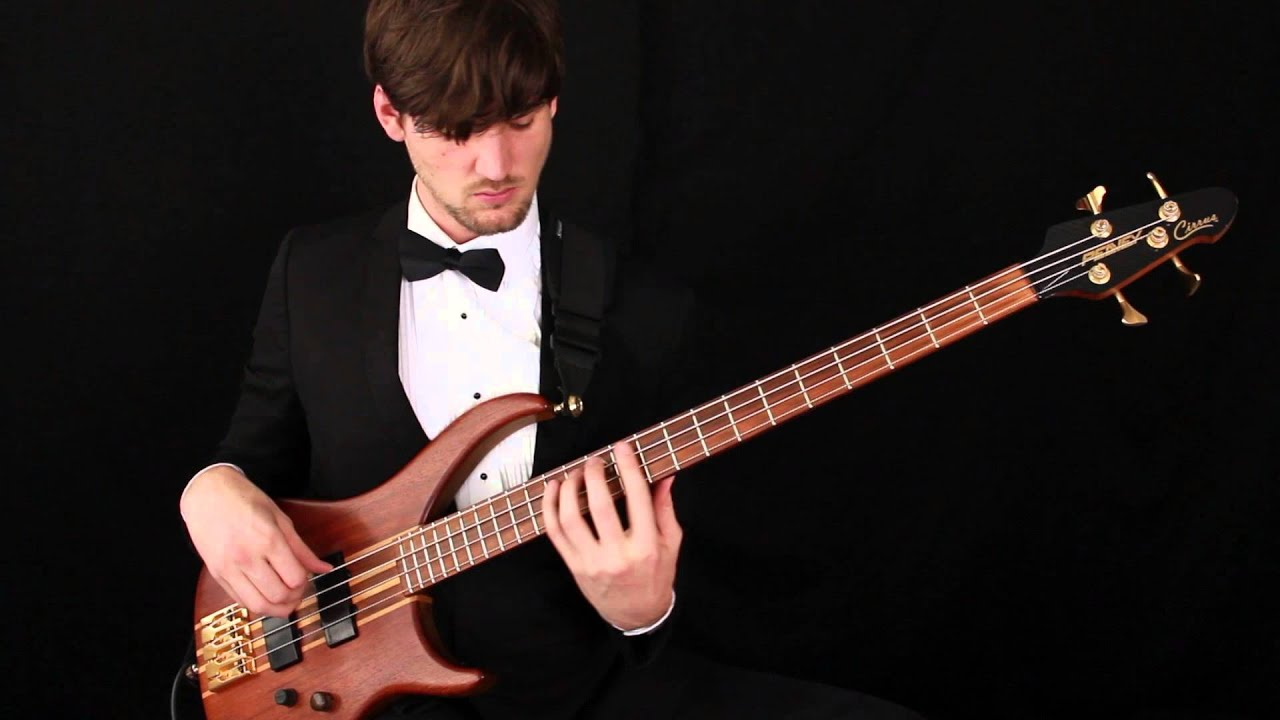 Bach Cello Suite 1: Prelude (Solo Bass Guitar)