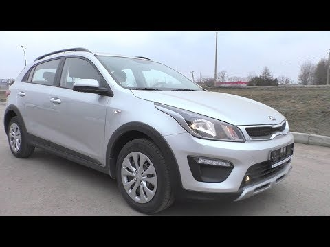 2018 Kia Rio X-Line. Start Up, Engine, and In Depth Tour.
