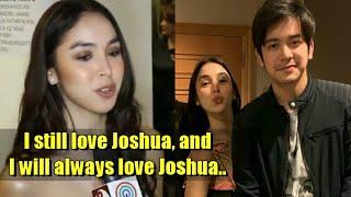 Julia Barretto Umamin Mahal Padin Si Joshua Garcia!  Latest Interview!