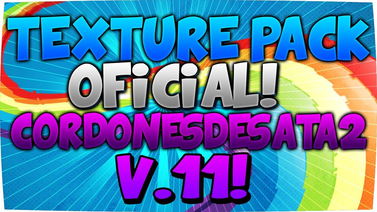 Texture Pack Oficial de CordonesDesatados #11 - Minecraft 1.8 - YouTube