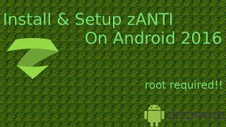 Gambar cover How to install & setup zANTI  -  Android 2016 (ROOT ACCESS NEEDED)