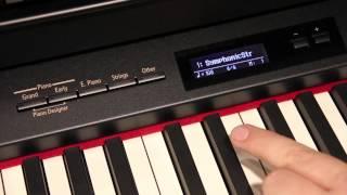Roland Digital Piano — Voices & Tones