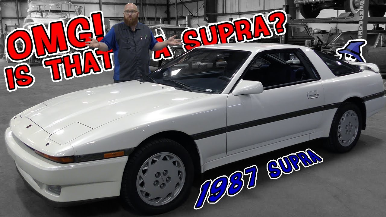 OMG! Is that a Supra in the CAR WIZARD's shop? Rare to see this reliable sports car in the shop
