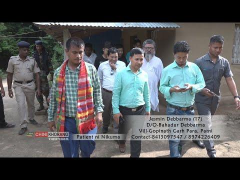 || Bk.Jesmin Nogo MP. Rebati Kumar Tripura ||