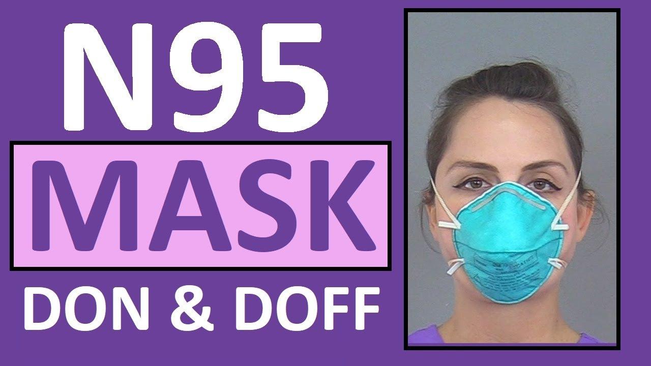 Download N95 Mask - How to Wear   N95 Respirator Nursing Skill Tutorial
