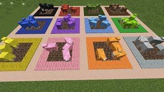 Как сделать плоскую ферму животных в Minecraft