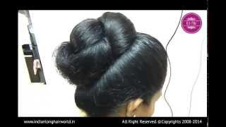 Repeat youtube video ILHW Model of The Month November Kalpana Hair Styling Video