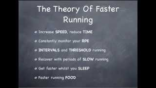 How to run faster: the theory of faster running