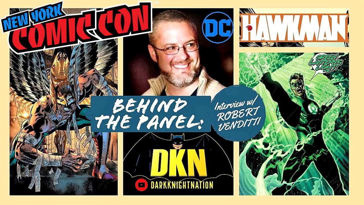 Interview w/ Robert Venditti (Writer of Green Lantern, Hawkman) @ NYCC l Behind The Panel