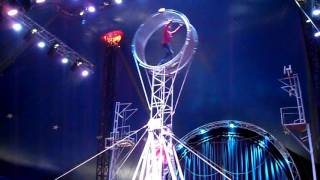 Цирк шапито Демидовых Колесо смерти2 в Кемерово
