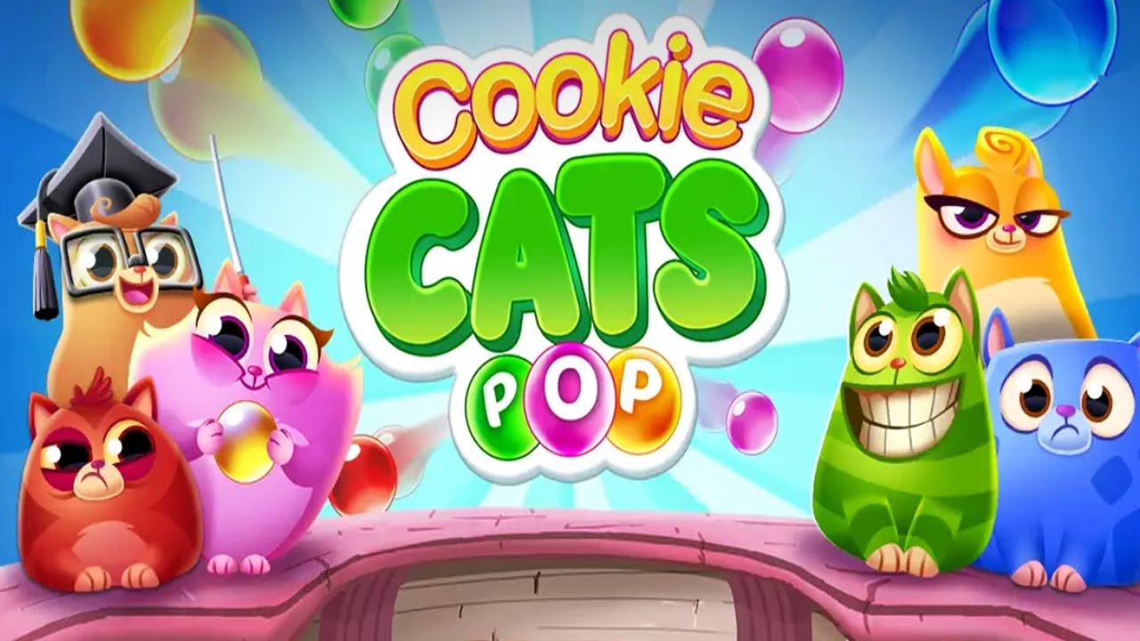 ApkMod1.Com Cookie Cats Pop v1.22.0 + МOD (Unlimited Coins) download free Android Game Puzzle