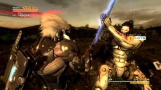 Metal Gear Rising: Jetstream Sam Revengance (No upgrades except Offensive Defensive) No Damage