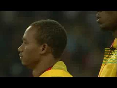 Athletics - Men's 4X100M - Victory Ceremony - Beijing 2008 Summer Olympic Games