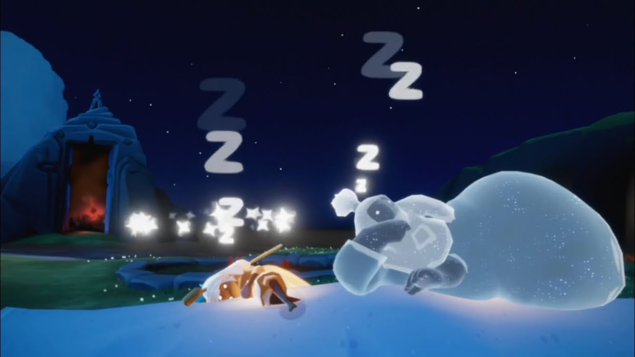 [Sky 빛의 아이들 ~일상~] 왜 자고 있어?