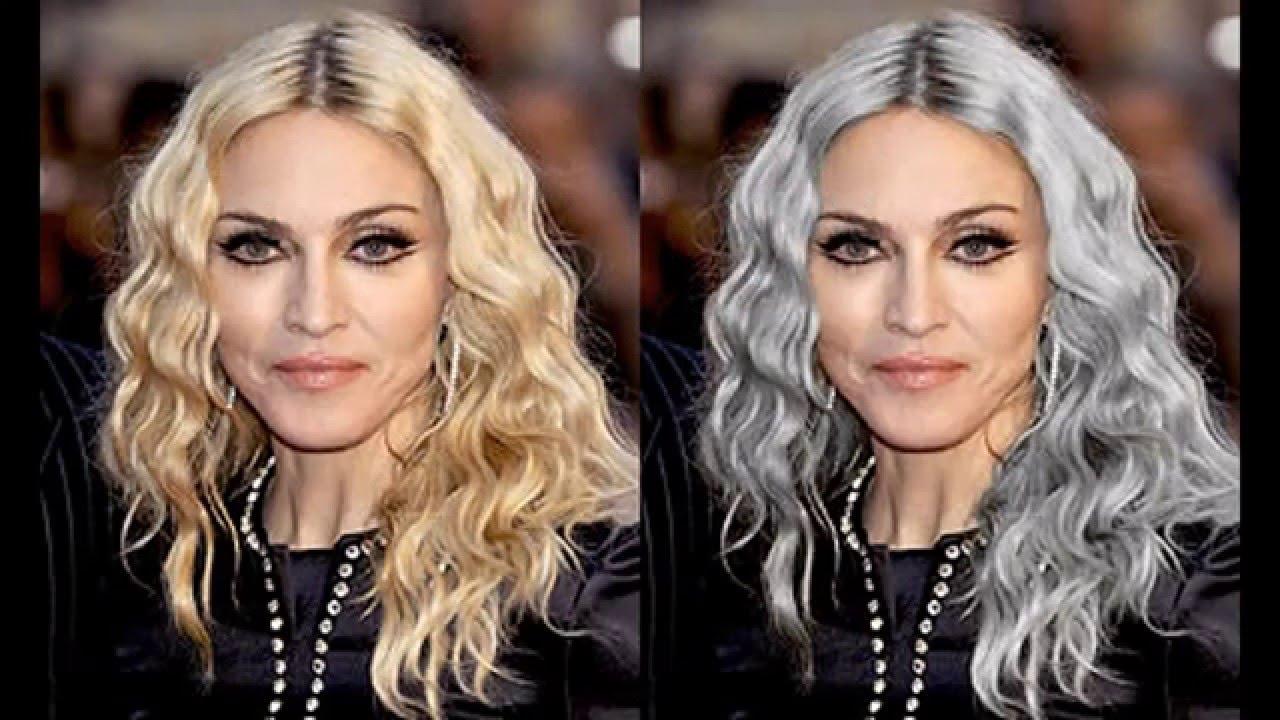 Grey Hair Color Ideas Youtube