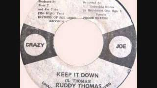 Ruddy Thomas -  Keep It Down