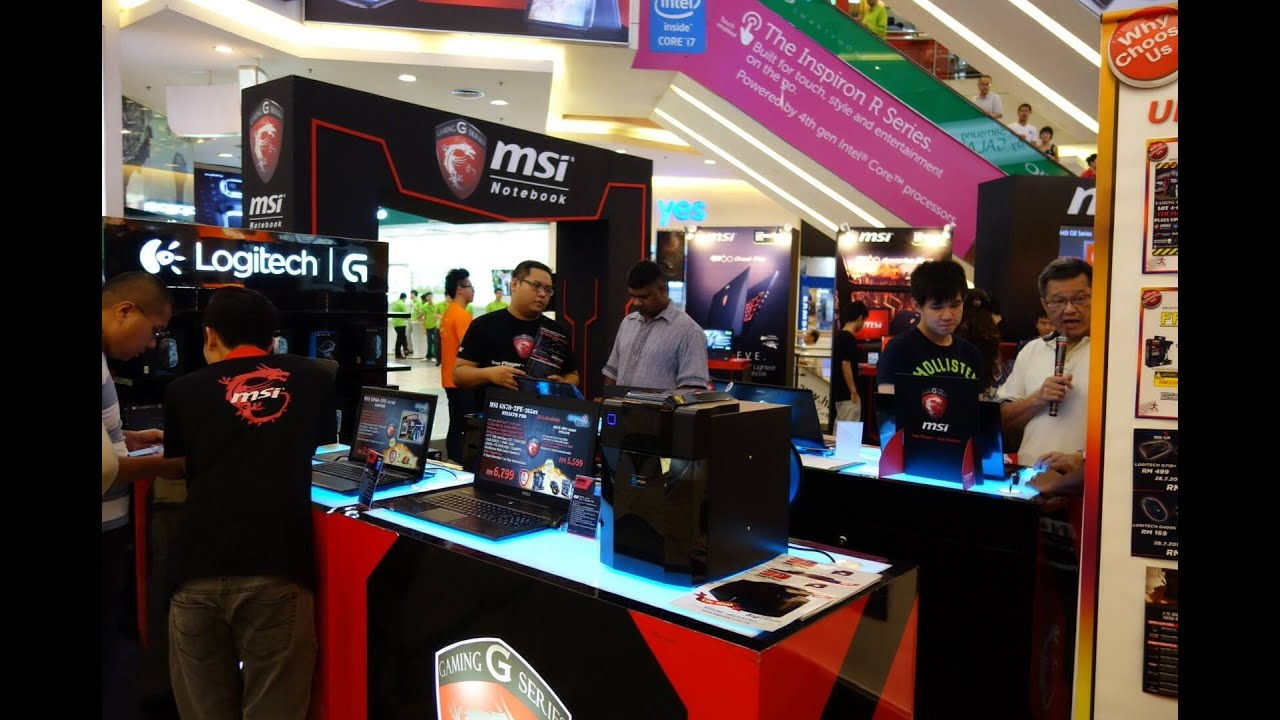 Color printing lowyat - Msi Gaming Fair 2014 28th July 3rd August At Lowyat