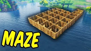 Building A Maze - Fortnite Battle Royale