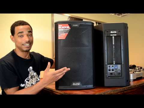 Alto Professional Black 12 Powered Speaker Review Video