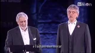 Placido Domingo & Andrea Bocelli - Pearl Fishers duet